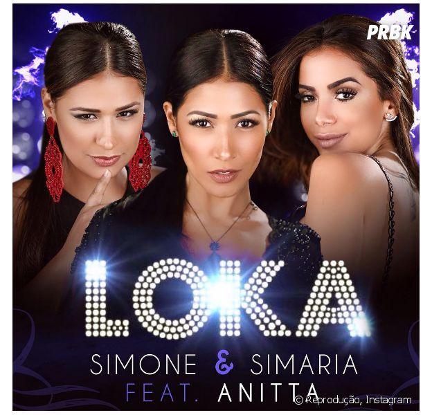 Anitta foi convidada pela dupla Simone e Simaria para um feat arrasador