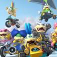 """Em """"Mario Kart 8"""", sete novos participantes entraram para a corrida"""