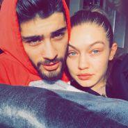 Zayn Malik e Gigi Hadid aparecem apaixonados no Snapchat da modelo!