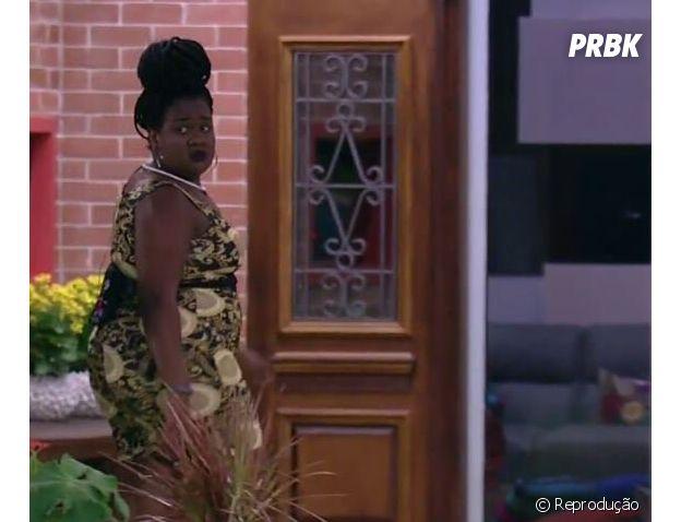 """No """"BBB17"""": Roberta não revelou que votou em Mayara e se afastou na confusão"""