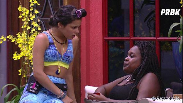 "No ""BBB17"": Emilly apoiou Roberta e partiu contra Elis"