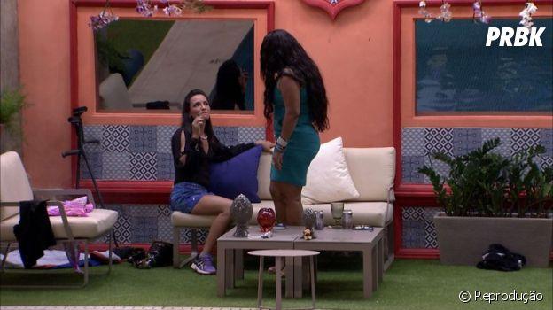 """No """"BBB17"""": Elis se aproximou de Marinalva após acusações de Roberta"""