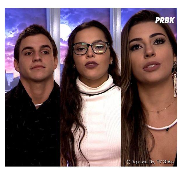 """Do """"BBB17"""": Emilly, Manoel ou Vivian, quem deve sair no próximo paredão?"""