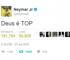 Neymar Jr. e sua fé inabalável!