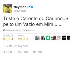 Eita, Neymar, bateu saudade da Bruna?