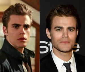 """O antes e depois de Stefan (Paul Wesley) em """"The Vampire Diaries"""""""