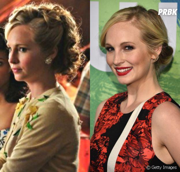 """O antes e depois de Caroline (Candice Accola) em """"The Vampire Diaries"""""""