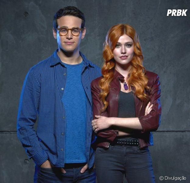"""De """"Shadowhunters"""": Katherine McNamara fala sobre relação de Clary e Simon (Alberto Rosende) e sobre final da temporada!"""