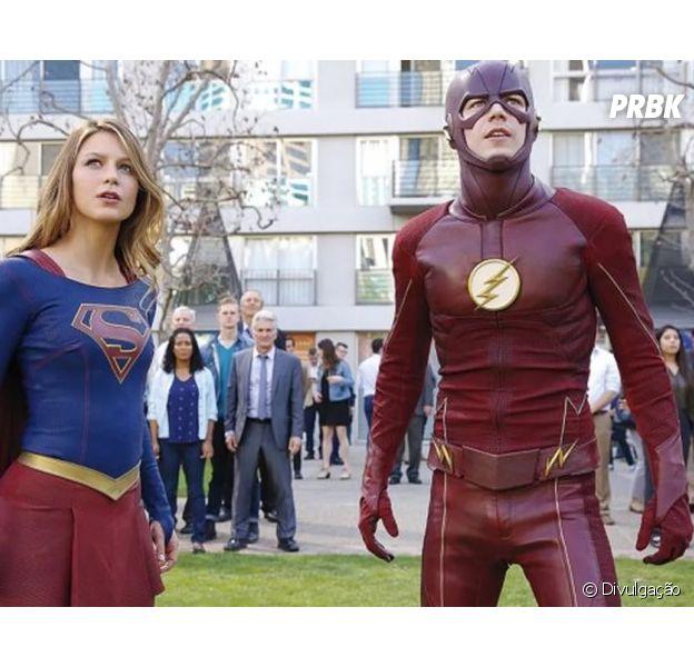"""Em """"The Flash"""" e """"Supergirl"""": confira 1º teaser do crossover musical!"""