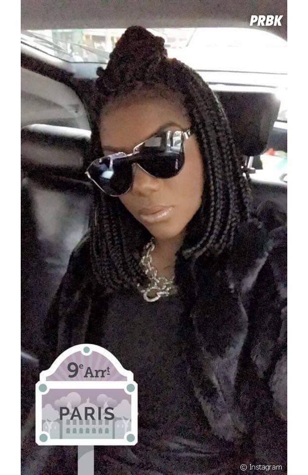 Ludmilla fez até selfie no Uber em Paris, na França!