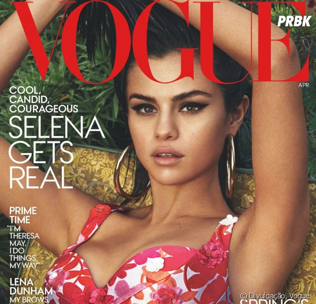 Selena Gomez é capa da nova edição da Vogue americana!