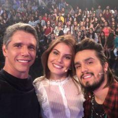 """Luan Santana e Camila Queiroz participarão da nova temporada do """"Tamanho Família"""", da Globo"""