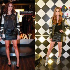 Bruna Marquezine ou Marina Ruy Barbosa? Qual das duas vestiu melhor a mesma jaqueta?
