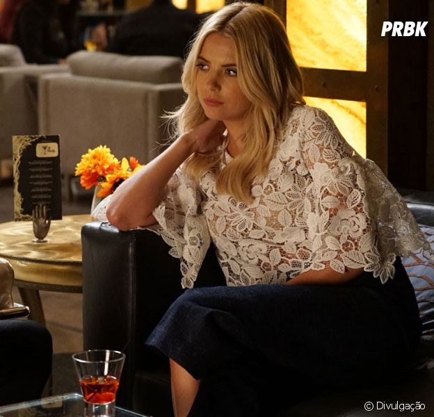 "Em ""Pretty Little Liars"": Hanna (Ashley Benson) e Caleb (Tyler Blackburn) casados finalmente?"