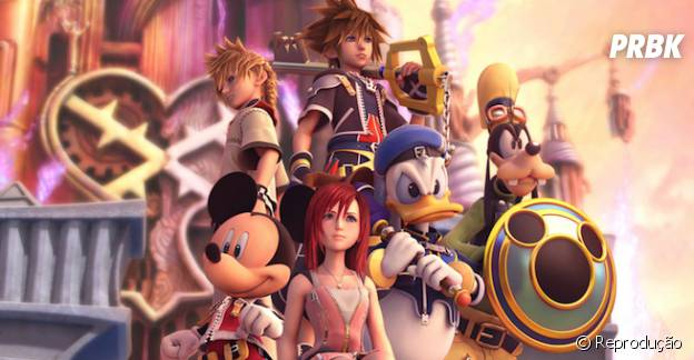 "Os personagens da Disney e de ""Final Fantasy"" que todo muno adora ""Kingdom Hearts 3"""