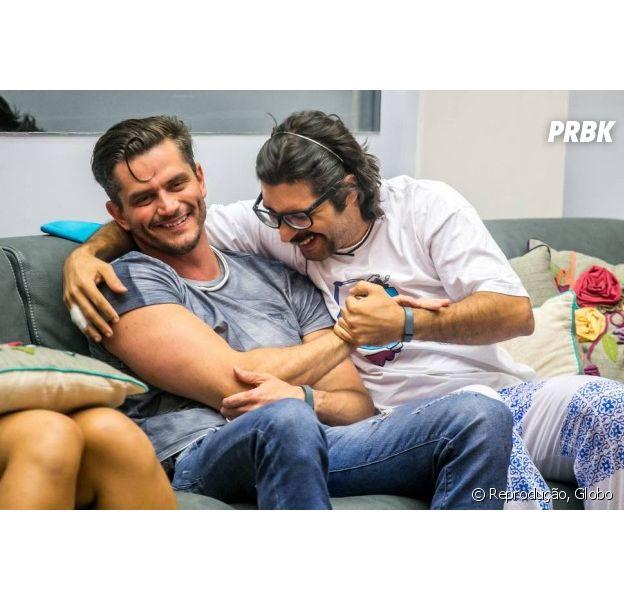 """Do """"BBB17"""", Marcos e Ilmar se enfrentam em novo Paredão"""