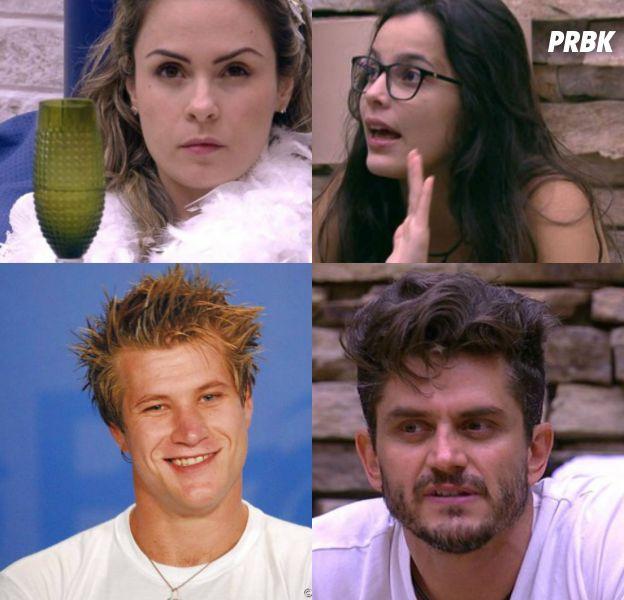 """Marcos, Emily, Ana Paula e Diego Alemão participaram dos maiores barracos do """"BBB""""!"""