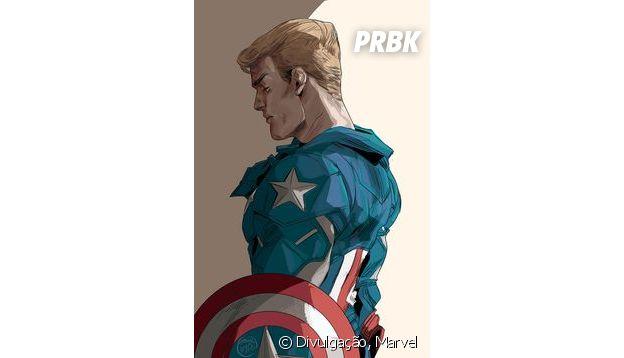 Steve Rogers, o Capitão América dos quadrinhos, foi feito perfeitamente para Chris Evans!