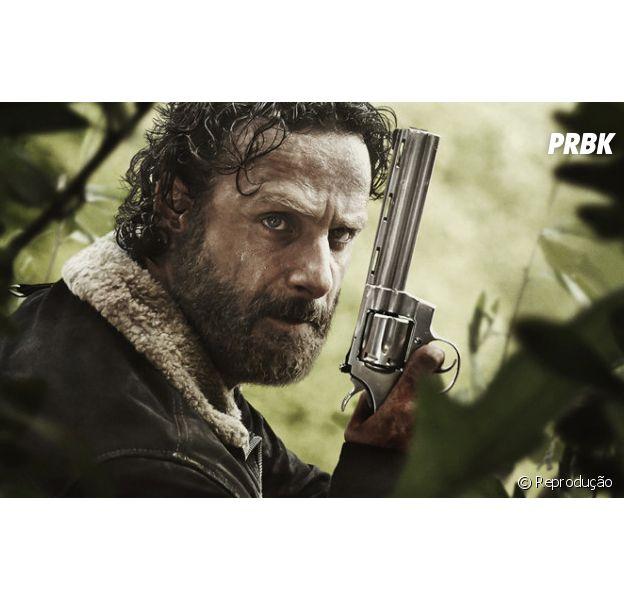 """Em """"The Walking Dead"""", fim trágico de Rick (Andrew Lincoln) na 8ª temporada é levantado por showrunner"""