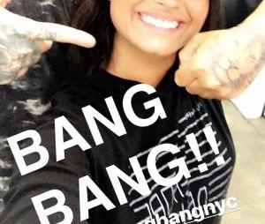 Demi Lovato mostra nova tatuagem no Instagram!