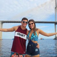 """Do """"BBB17"""", Manoel fala sobre romance com Vivian após viagem: """"Mais unidos"""""""