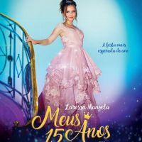 """Larissa Manoela protagoniza trailer oficial de """"Meus 15 Anos"""" e deixa fãs ansiosos: """"Shippando"""""""