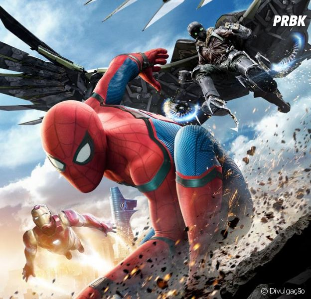 """""""Homem-Aranha: De Volta ao Lar"""" ganha dois trailers com muitas cenas inéditas!"""