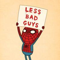 Super-heróis aposentados: artista Mike Mitchell ilustra como poderia ser isso
