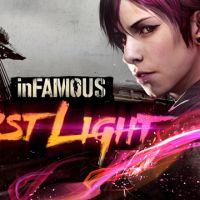 """Em """"InFamous: First Light"""": a ruiva quebra tudo com seus poderes rosa shock"""