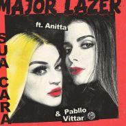 """Anitta e Pabllo Vittar aparecem juntas em parceria com Major Lazer! Ouça """"Sua Cara"""""""