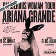 "Ariana Grande retoma turnê de ""Dangerous Woman"""