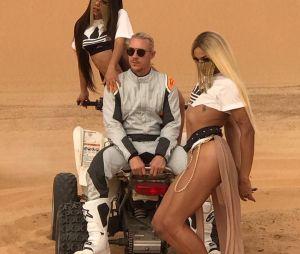 """Anitta, Diplo e Pabllo Vittar aparecem em novas imagens do clipe """"Sua Cara"""""""