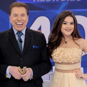 Maisa Silva chora e abandona gravação com Dudu Camargo após piadas de Silvio Santos, segundo site