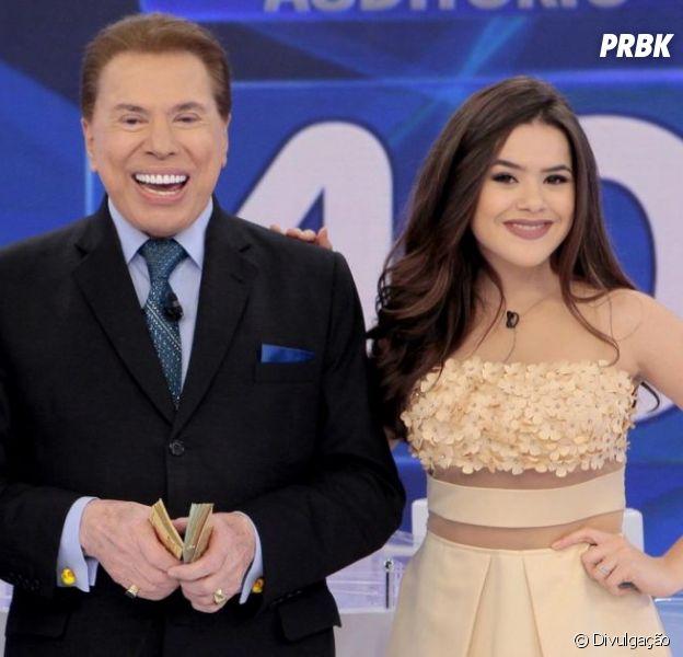 Maisa Silva sai do palco do programa do Silvio Santos após aparição de Dudu Camargo