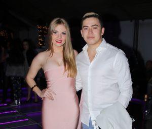 O casal de youtubers, Whindersson Nunes e Luisa Sonza, também estavam na festa de Larissa Manoela