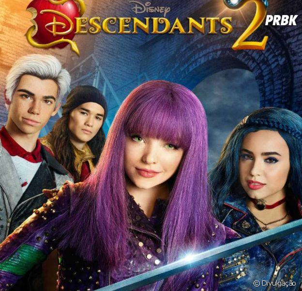 """Veja o elenco de """"Os Descendentes 2"""" na pré-estreia do filme!"""