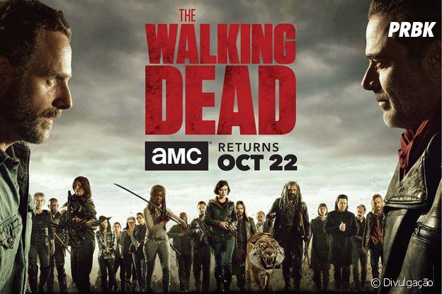 """De """"The Walking Dead"""": 8ª temporada ganha data de lançamento!"""