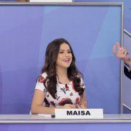 """Maisa Silva discute outra vez com Silvio Santos e polemiza: """"Inadequado"""""""
