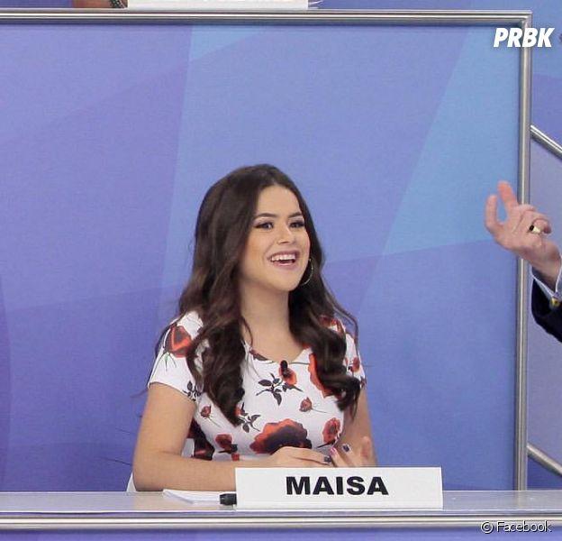 Maisa Silva volta ao programa do Silvio Santos e repreende apresentador