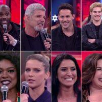 """Isabella Santoni, Nicolas Prattes e os 12 participantes da """"Dança dos Famosos 2017"""""""