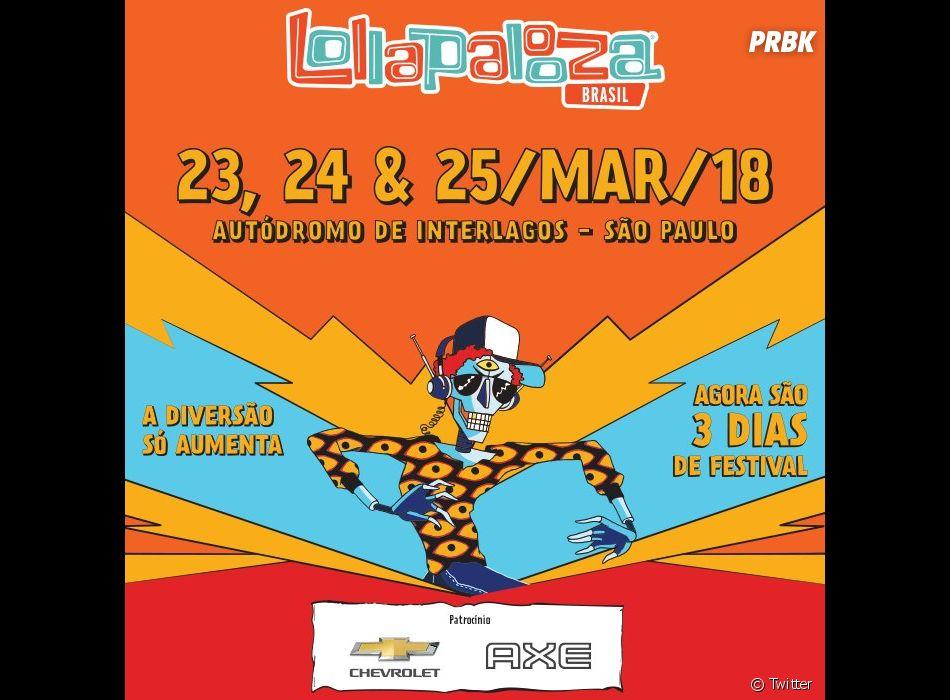O Lollapalooza 2018 vai acontecer em 3 dias! - Purebreak 37081c8343d