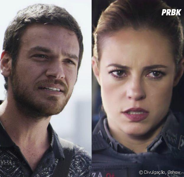 """Em """"A Força do Querer"""", Rubinho (Emilio Dantas) vai tentar matar Jeiza (Paolla Oliveira)"""