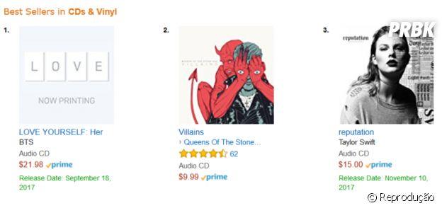 Novo albúm da BTS já é o mais vendido da Amazon