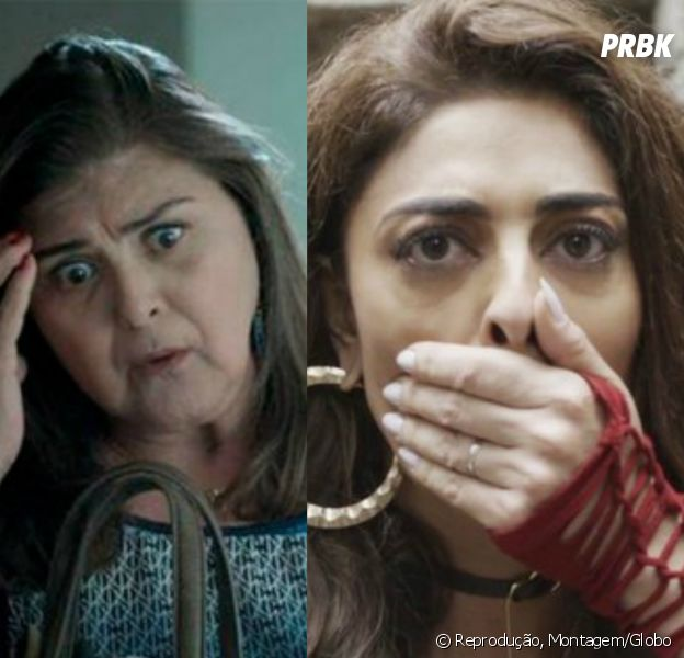 """Em """"A Força do Querer"""", Aurora (Elizângela) entrega Bibi (Juliana Paes) à polícia"""