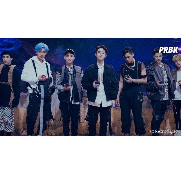 "Grupo coreano de Kpop EXO lançou teaser novo de ""Power"""