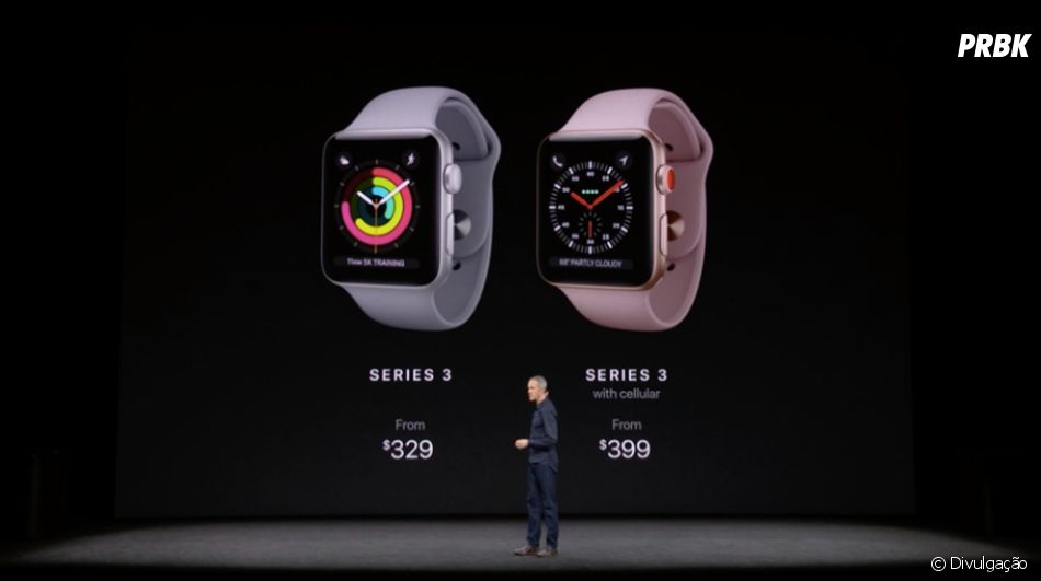 """O """"Apple Watch Series 3"""" poderá fazer ligações e reproduzir músicas sem a necessidade do iPhone"""