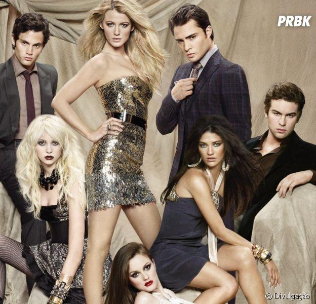 """De """"Gossip Girl"""": série completa 10 anos!"""