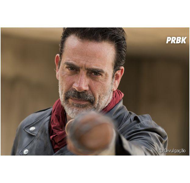 "Em ""The Walking Dead"", Negan (Jeffrey Dean Morgan) vai enfrentar uma guerra na 8ª temporada"