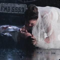 """No último capítulo de """"Em Família"""": Luiza chora ao ver Laerte baleado no chão"""