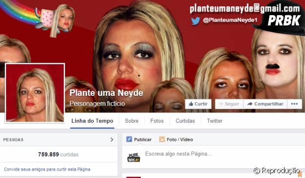 Página Plante uma Neyde é sucesso no Facebook!